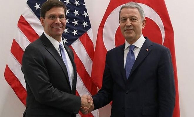 Bakanı Akar, ABD Savunma Bakan Vekili ile görüştü