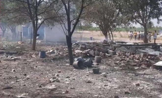 انفجار در کارخانه فشفشه سازی در هند: 11 کشته برجای گذاشت
