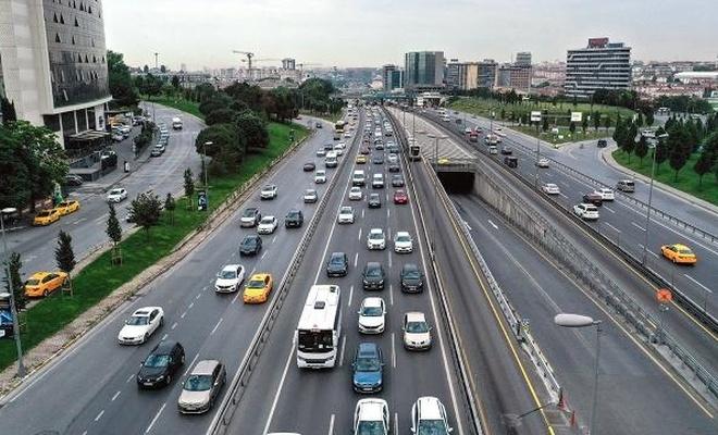 Trafikteki araç sayısı 25 milyona yaklaştı