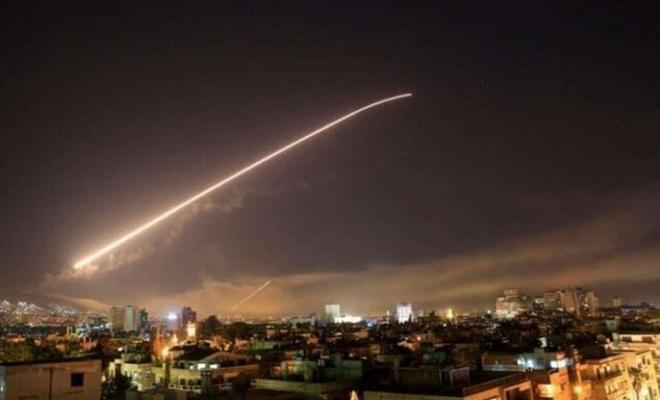 Siyonist işgal rejimi Şam'a saldırdı
