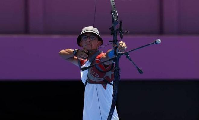 Mete Gazoz ikinci tura yükseldi