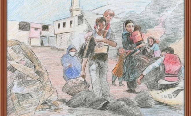 """""""Göç ve Aile Temalı Resim Yarışması Ödül Töreni"""" yapıldı"""