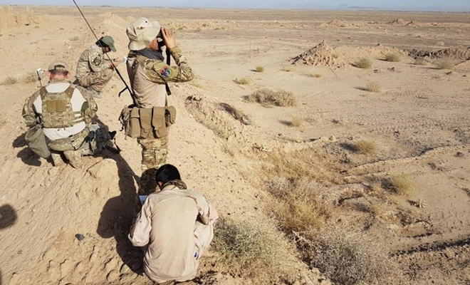 İşgalci ABD Taliban'a hava saldırısı düzenledi