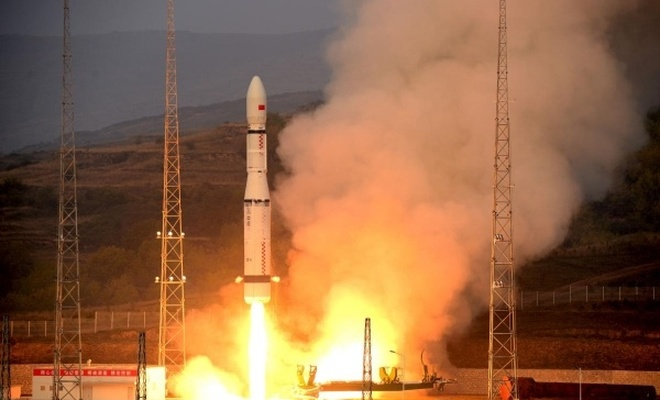Çin uzaya tarım uydusu gönderdi