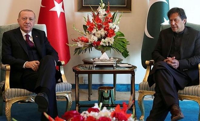 Erdoğan ile İmran Han başbaşa görüştü