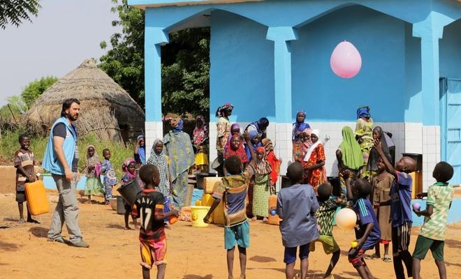 TDV Nijer'de 15 su kuyusu açtı