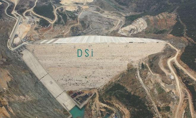 Mersin Pamukluk Barajı bitme aşamasına geldi