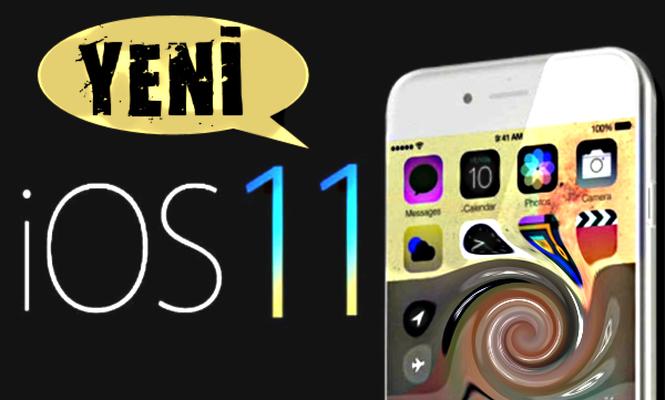 Apple iOS 11 İçin Yeni Güncelleme