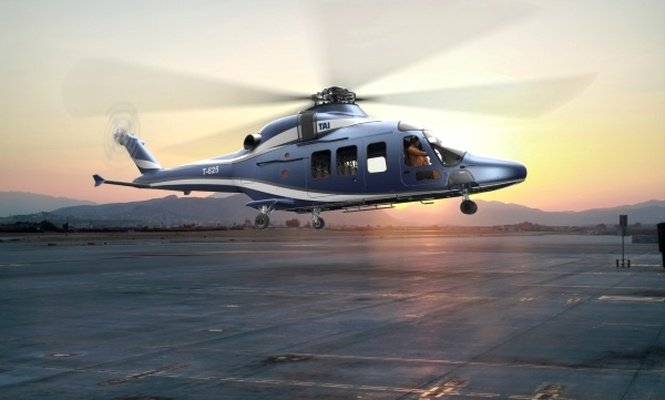 Türkiye`nin helikopteri uçuşa gün sayıyor