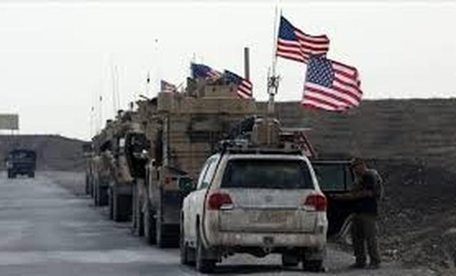 ABD askerleri petrol nöbetinde