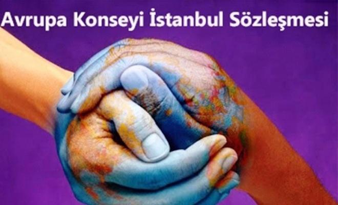 İstanbul Sözleşmesini Erdoğan'a şikayet ettiler