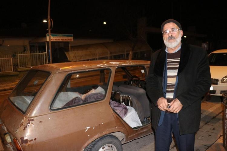 """Bildergebnis für """"Kadının beyanı esas"""" alındığı için kışın soğuğunda arabada yatıyor"""