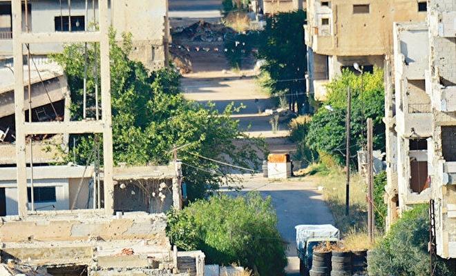 Baas rejimi camiyi havan topuyla hedef aldı!