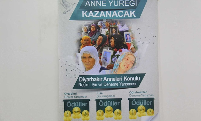 Eğitim-Bir-Sen Diyarbakır Şubesi evlat nöbeti tutan aileler için yarışma düzenliyor