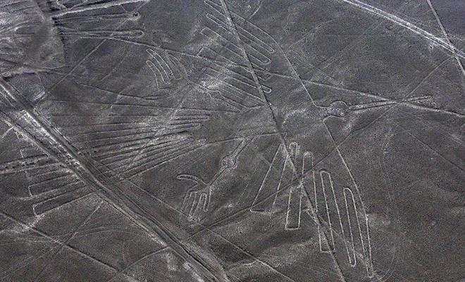 Nazca Platosu'nda 'canavar' resimleri keşfedildi