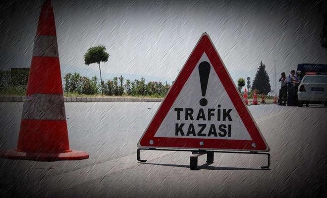 Kayseri'de işçiler taşıyan minibüs devrildi: 10 yaralı