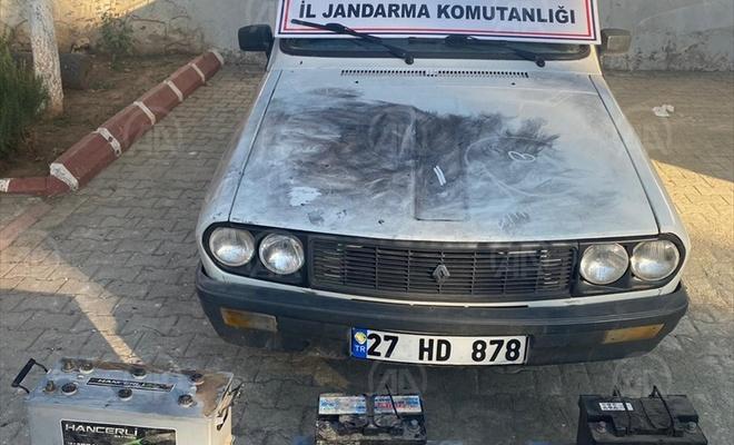 Çaldığı otomobille kaçan zanlı kovalamaca sonucu yakalandı