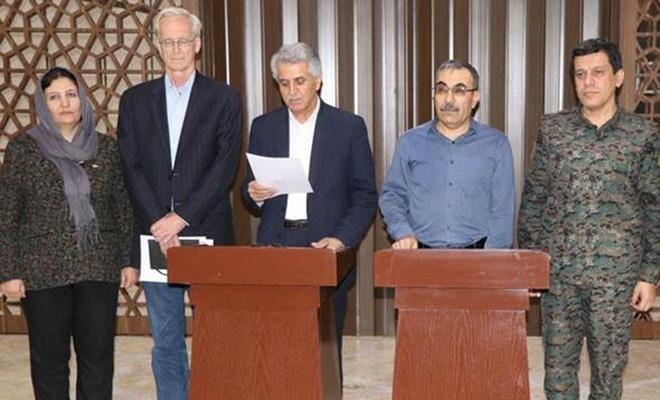 ENKS ile PKK/YPG anlaştı, ortak açıklamada ABD'ye teşekkür edildi