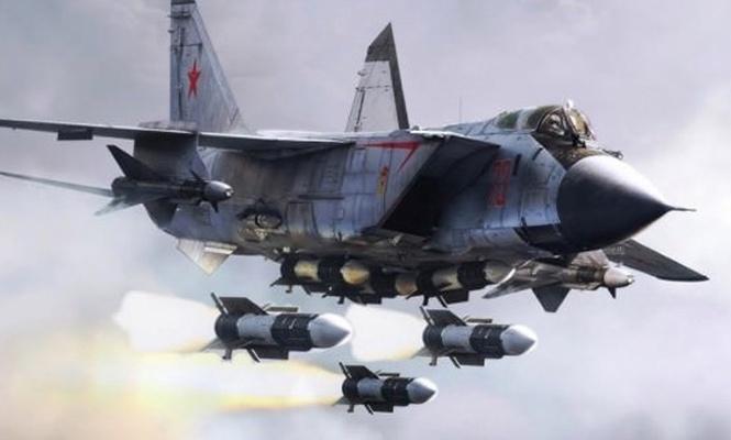Rusların bir uçağı daha düştü