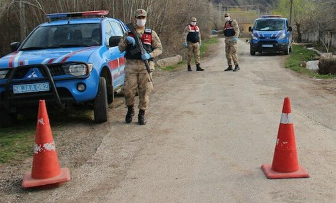 Sivas'ta 2 köy karantinaya alındı