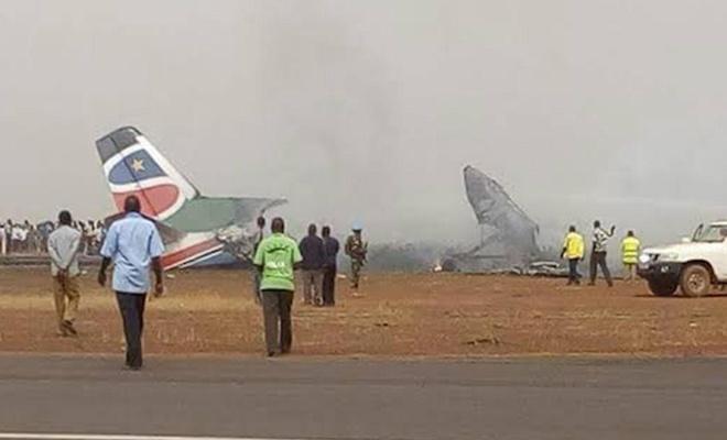 18 people killed in plane crash in Sudan