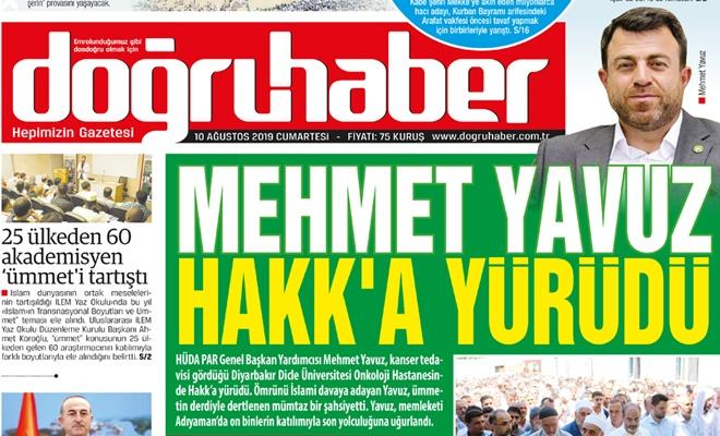 Mehmet Yavuz Hakk'a Yürüdü