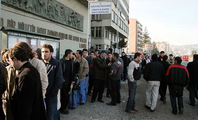 İşsizlik rakamlarında endişe veren artış