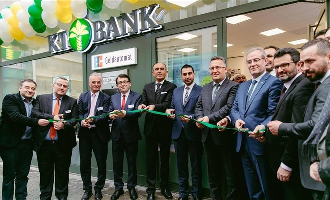 KT Bank AG Münih şubesi açıldı