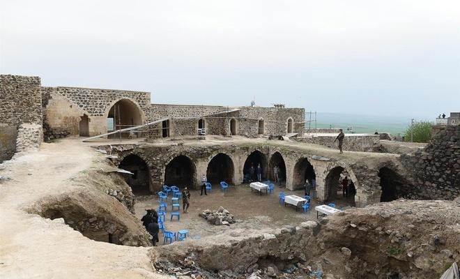 Mor Kuryakos Manastırı'nda restorasyon çalışmalarının sonuna gelindi