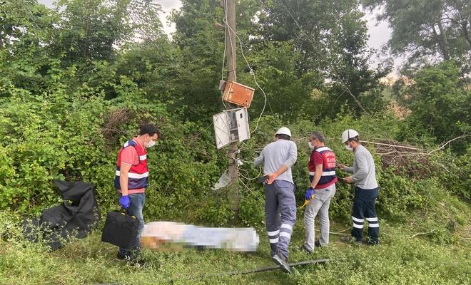 Elektrik akımına kapılan kişi hayatını kaybetti