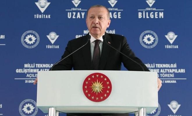 Cumhurbaşkanı: Teknolojiyi üreten ve ihraç eden ülke konumuna ulaşmalıyız