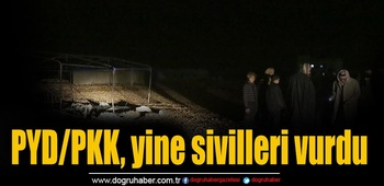 PYD/PKK, yine sivilleri vurdu