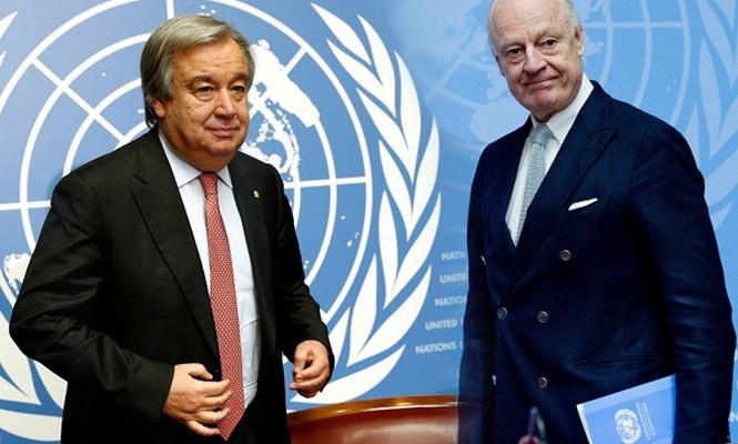 BM`den Mistura`ya Suriye talimatı