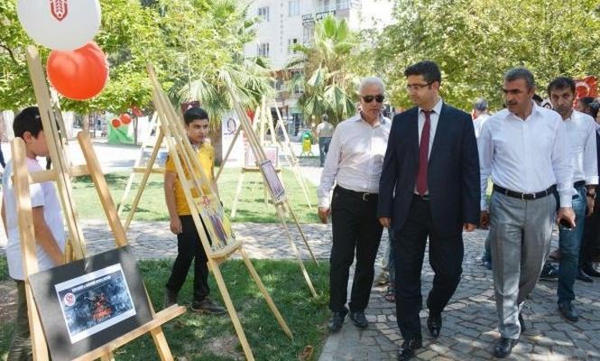 Kızıltepe`de `15 Temmuz` temalı fotoğraf sergisi