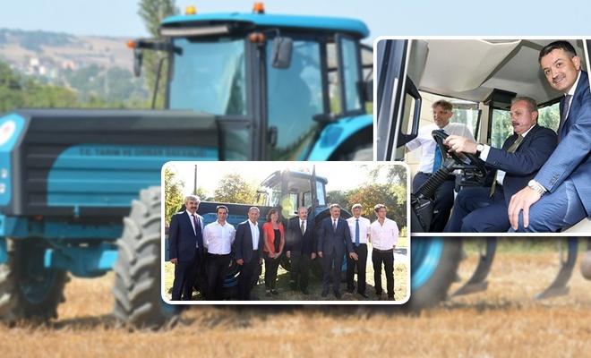 Yerli ve milli elektrikli traktörü test ettiler