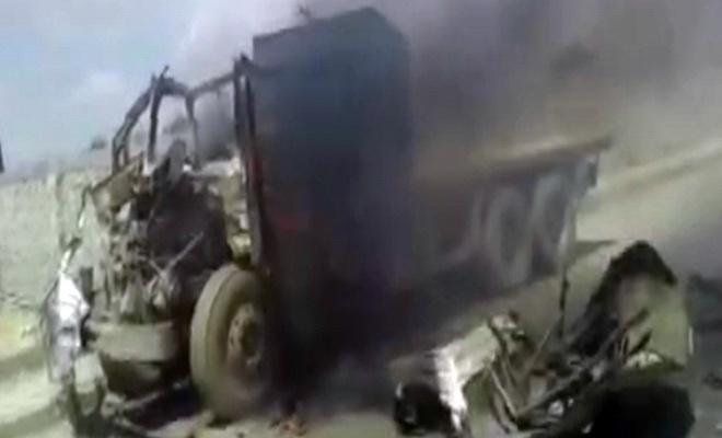 Suriye'de bombalı araç patlatıldı