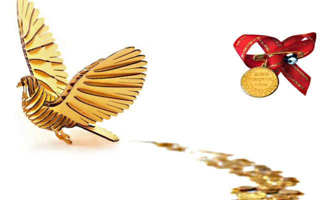 Kapalıçarşı'da gram altın günü 280 liradan kapattı