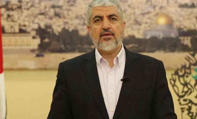 """Halid Meşal: """"Filistin ve Mescidi Aksa davası bütün Müslümanların meselesidir"""""""