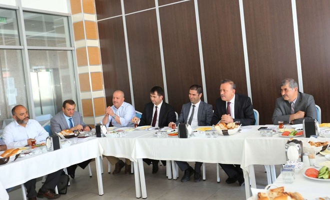 BEÜ Rektörü Elmastaş kısa ve orta vadeli projelerini basınla paylaştı