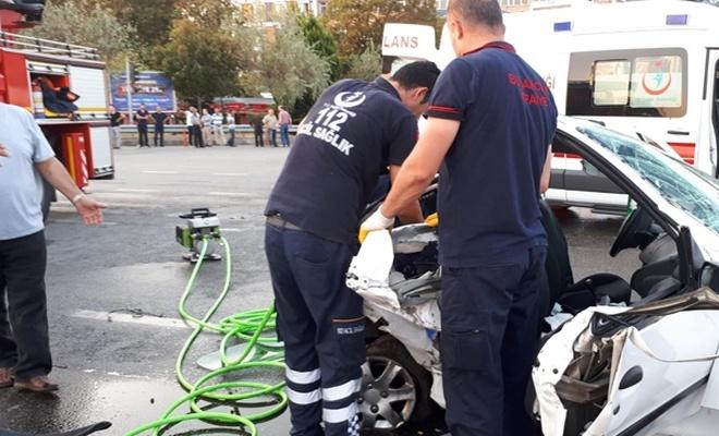 Giresun`da korkunç kaza: 2 ölü, 12 yaralı