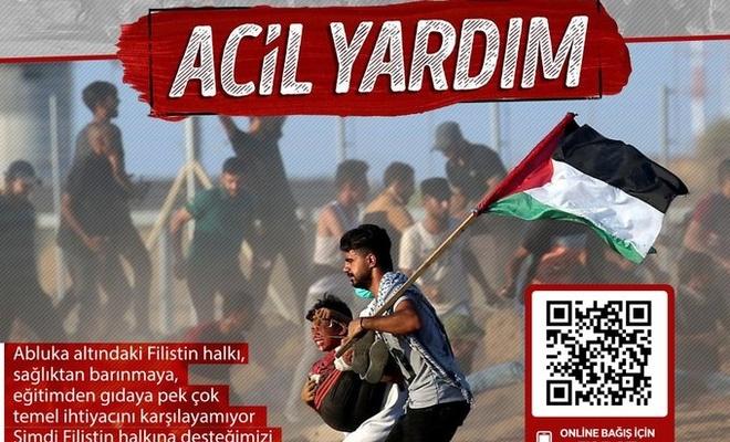 Yardım kuruluşlarından Filistin'e yardım çağrısı