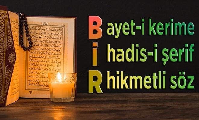 Allah'a ibadet edin ve O'na...