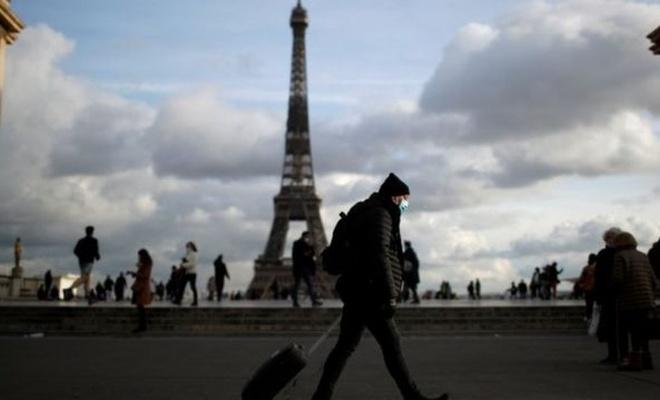 Fransa'da son 24 saatte 4 bin 475 Kovid-19 vakası tespit edildi