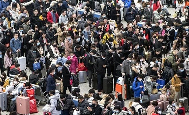 Çin'i bekleyen tehlike: Yeni yıl tatili!