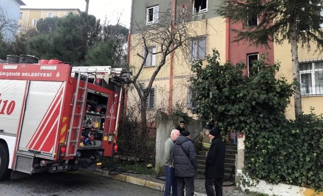 İstanbul'da çıkan yangında yaşlı adam hayatını kaybetti