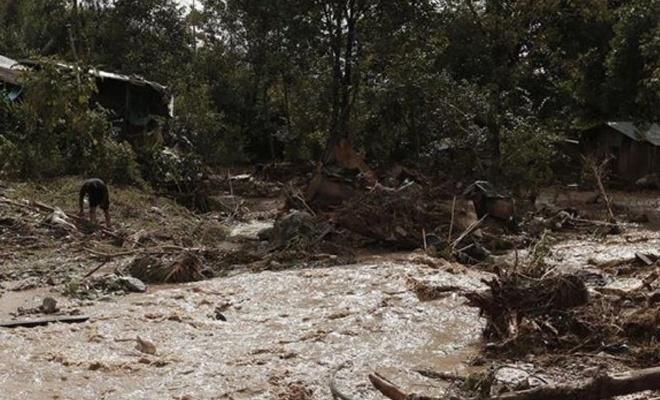 Myanmar'daki toprak kaymasında 63 ceset çıkarıldı