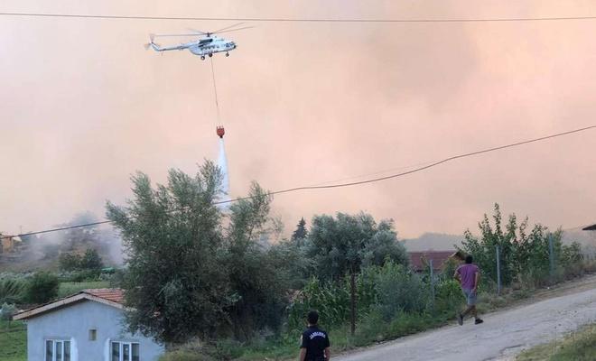 17 ilde 58 orman yangını meydana geldi