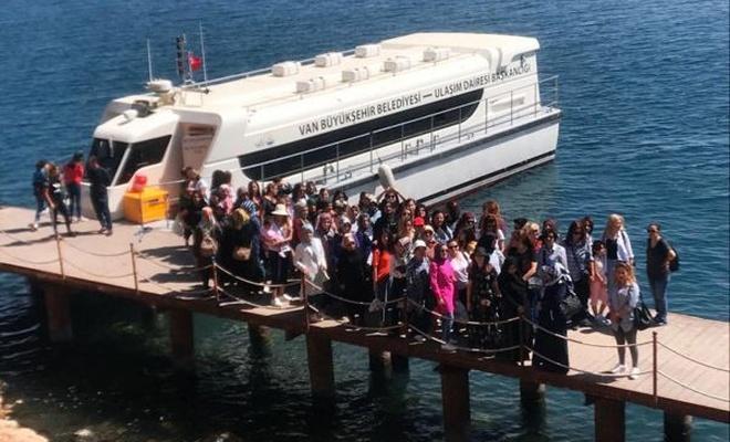 Belediyeden kadın personellere yönelik gezi programı