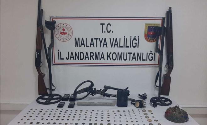 Malatya'da 140 adet tarihi eser yakalandı