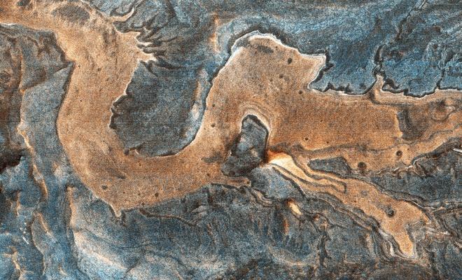 NASA, Mars yüzeyinde ilginç bir 'görüntü' yakaladı!